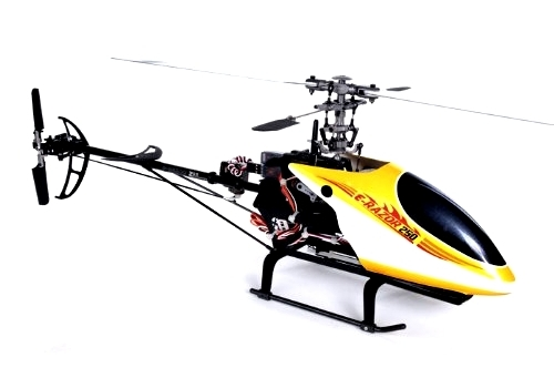 Dynam e-Razor 250 RC 3D Mini Helicopter Pitch
