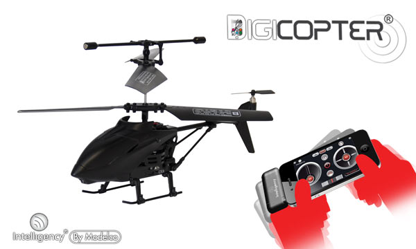 Modelco Digicopter IR 3 voies gyro For SmartPhone (54PROJET-H)