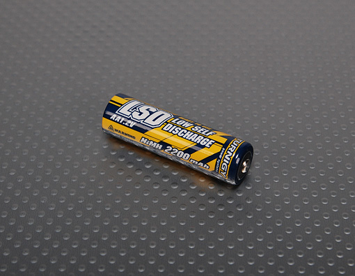 AA Battery LSD 2200mah Low Self Discharge