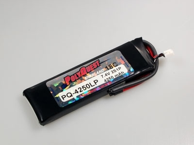 PQ-4270LP Batterie Accus LIPO Polyquest 2S1P