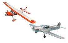 Gas engine radio controlled airplanes...