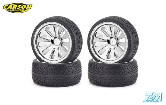 C500105200 Buggy on road tires 1/10