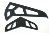 CF fins for t-rex (1.2mm)