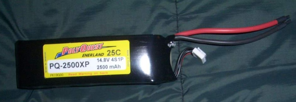 PQ-2500XP Batterie Accus LIPO Polyquest 4S1P