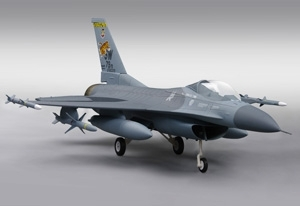 F-16CJ kit Jet Semi maquette Turbine air